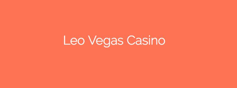 Kungligt erbjudande från Leo Vegas